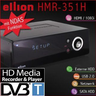 Ellion HMR 351H HDMI DVB T Receiver Media Recorder