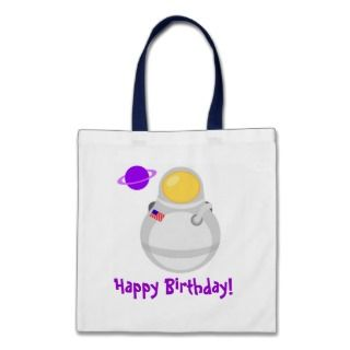 Space Astronaut Happy Birthday Party Bag Gift