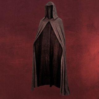Star Wars Anakin Skywalker Jedi Robe Umhang mit Kapuze braun