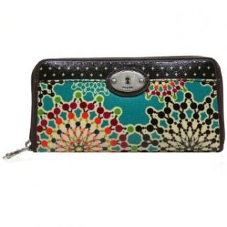 Fossil Key Per Zip Clutch   Bright Multi Bekleidung
