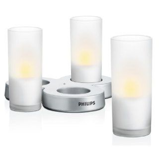 PHILIPS myLightAccent, CandleLights CandleLightsWhite 3 set mit 8W