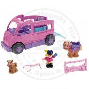 Fisher Price Little People V5439 Ponywagen Pferdewagen mit Figuren und