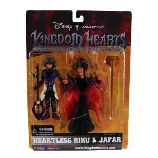 Disney Squaresoft Kingdom Hearts Heartless Riku & Jafar Sammelfiguren