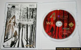 Nintendo Wii Spiel Resident Evil 4 FSK 18 TOP Sammlungsaulösung