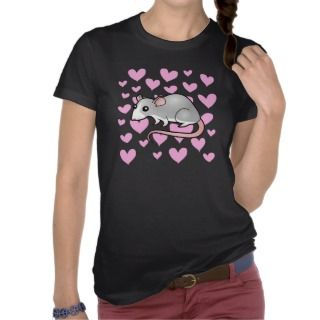 Rat Love (silver blaze) t shirts by SugarVsSpice