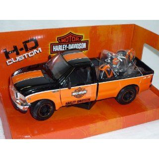 FORD F 350 F350 HARLEY DAVIDSON SCHWARZ ORANGE 1999 SUPER DUTY PICK UP