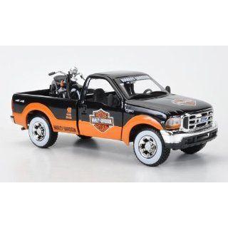 Ford + Knucklehead F 350 Pickup und EL Knucklehead, Harley Davidson