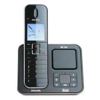 Philips SE7651B DECT Single ECO schnurloses Telefon mit