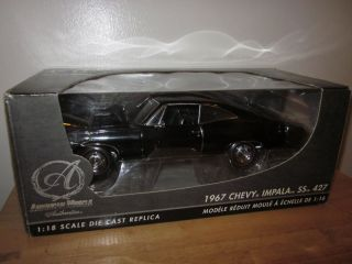 18 SUPERNATURAL  ERTL/RC2 AUTHENTICS 1967 CHEVROLET IMPALA SS427