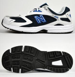 NEW BALANCE GM413NV Herren Laufschuhe Running Schuhe white/navy NEU