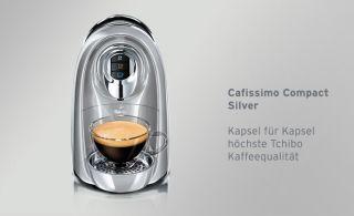 Tchibo Cafissimo Compact, Kaffeemaschine für Kapseln