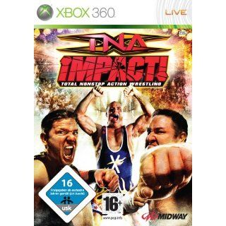 TNA Impact Total Nonstop Action Wrestling Xbox 360 Games