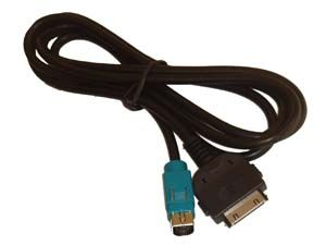 AUX AV Adapter Kabel für ALPINE CDE 9882Ri, IVA D105R D106R für IPOD
