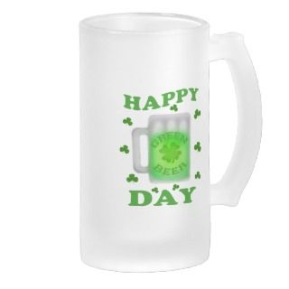 St. Patricks Day Irish Green Beer Mug