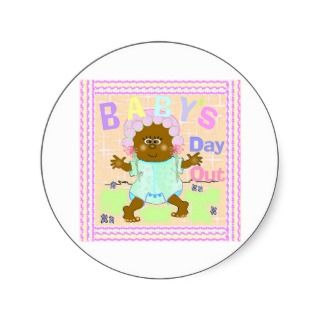 African American Baby Shower Stickers, African American Baby Shower