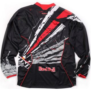 KINI RED BULL BARBWIRE MX RACE SHIRT MOTOCROSS JERSEY