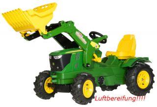 Rolly Toys rollyFarmTrac John Deere 6210R Trettraktor Lader