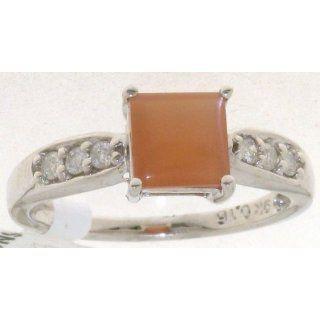Raffinierter 9 Karat (375) Weißgold Damen   Diamant Ring 0.15 Karat