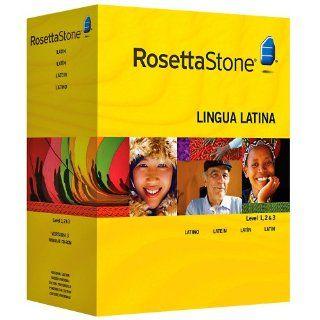 Rosetta Stone Version 3 Latein Stufe 1, 2 & 3 Set Persönliche
