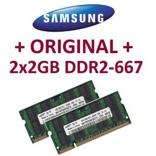 4GB Dual Channel Kit Samsung original 2 x 2 GB 200 pin