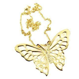 Halskette BIG BUTTERFLY gold Schmuck