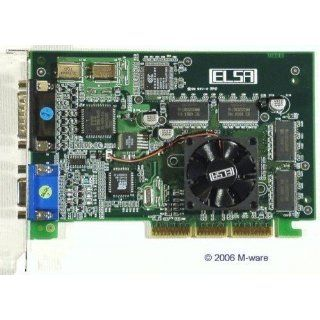 AGP Grafik Elsa Erazor III Pro   32 ViVo ID2508 Elektronik