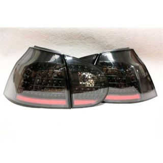 LED Rückleuchten Set Schwarz für VW Golf V 5 03 08
