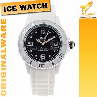 94 ORIGINAL ICE WATCH SI WB U S 10 Sili Armbanduhr Uhr Damen Weiss