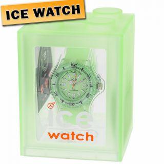 28 ORIGINAL ICE WATCH GL.GG.S.S.11 Sili Armbanduhr Uhr Damen Neon