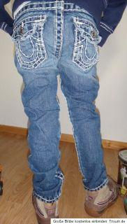 True Religion coole skinny Jeans & dicken Stitching Gr. 5 110