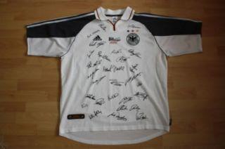 DFB Nationalmannschaft EM 2000 Trikot Shirt XL Bitburger #447