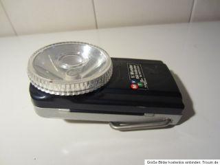 70er Wonder Batterie Taschenlampe Metal antique battery pocketlamp