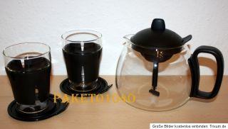 Tupperware Tupper Time Tee Set 5   teilig Kanne Gläser NEU