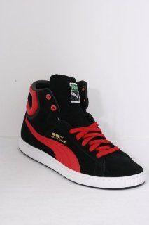 PUMA FIRST ROUND S Black Flame Scarlet Schuhe