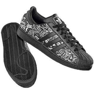 Adidas Superstar II G01978 schwarz Leder Schuhe