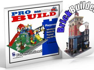 CD Playground Classic City Instructions PDF Custom Lego 10233 town