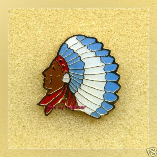 INDIAN CHIEF*INDIANER HÄUPTLING*Pin*Pins*Anstecker*447