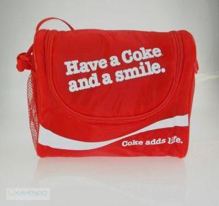 Kühltasche Coca Cola Coke & Smile 10 in rot von EZetil