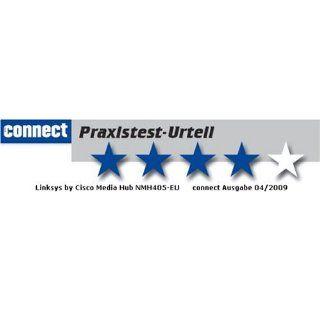 Linksys NMH405 EU Media Hub NAS System mit Festplatten