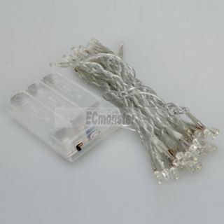 New 30 LED Battery Outdoor String Light Wedding Party Eco Friendly