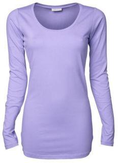 Ladies Stretch Long Sleeve Langarm Stretch T Shirt Extra Long TeeJays