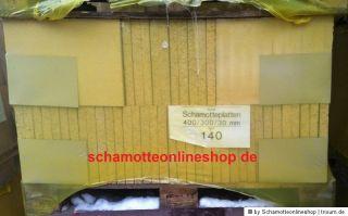Palette Schamottstein 270 Stk Schamotte 250x124x64mm Schamott