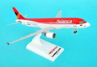Avianca Kolumbien Airbus A320 200 1 150 SkyMarks Modell SKR459 NEU mit