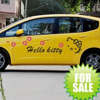 Hello Kitty Auto Tattoo Aufkleber Sticker 497x447mm 069