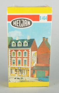 HELJAN HO BUILDING KIT #464 BRILLER CLOCK SHOP/EYE GLASSES SHOP