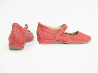 Hassia PETRA 9 301721 41000 Damen Ballerinas rot (rosso 4100) Gr. 41,5