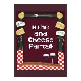 Wine and Cheese Party with Quote Announcement