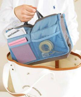 Women Travel Insert Handbag Organiser Purse Large liner Organizer Tidy