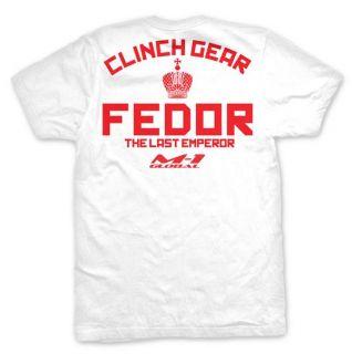 Clinch Gear Fedor Emelianenko T Shirt, MMA, UFC