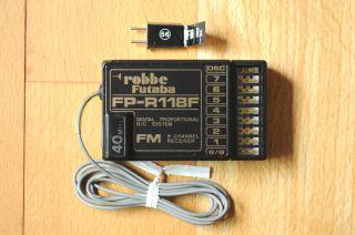 NEU +++ robbe Futaba FP R118F Empfänger FM 40 MHZ 8 Kanal incl. Quarz